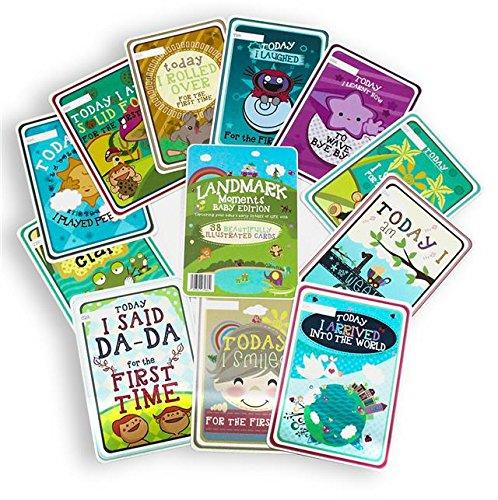 baby milestone cards amazon