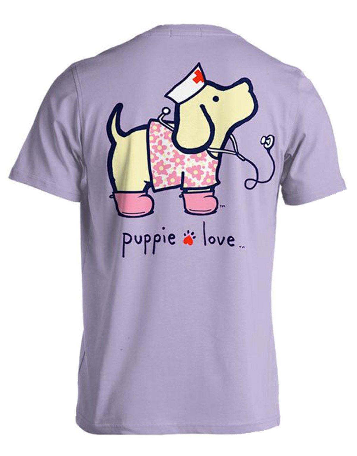 Puppie Love Nightingale Nurse Pup Help Rescue Dogs T-shirt-xl