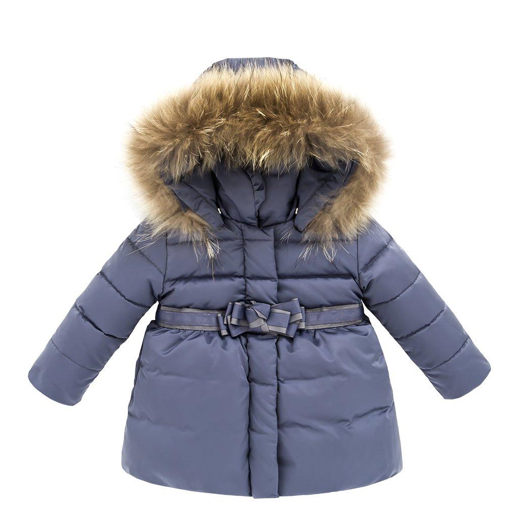 Piumino Bambino Giacche di piuma Giubbotti per Ragazze Inverno Cappotti con Cappuccio