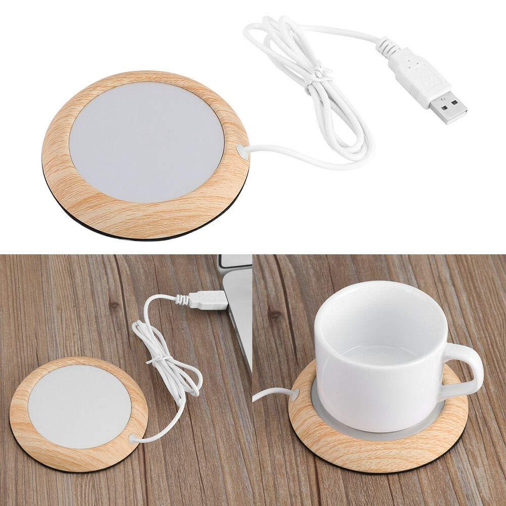 Amazon.com: Creative USB Wood Grain Heat Heater Milk Tea ...