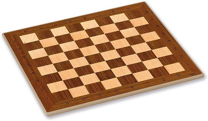 Cayro - Tablero de Ajedrez de Madera - Juego de Tradicional - Juego de Mesa - Desarrollo de Habilidades cognitivas - Juego de Mesa (T-133): Amazon.es: Juguetes y juegos