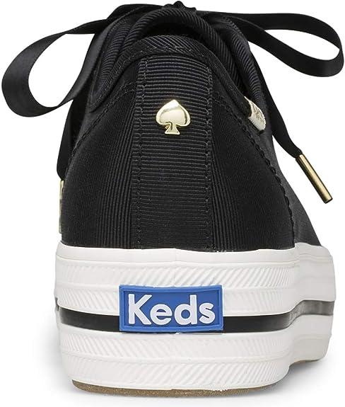 keds x kate spade new york triple kick faille sneakers