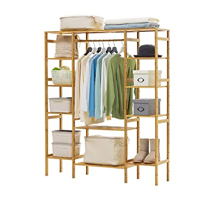 Amazon.com: XIANWEI Coat Rack,Freestanding Storage Shelf ...