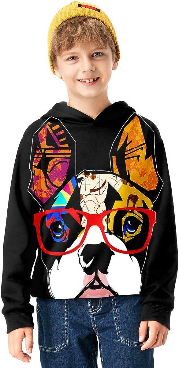 Linnhoy 3D Digital Printed Kids Hoodies for Boys and Girls Sweatshirts 6-15 Years