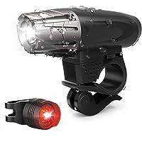 bigbigfamily Farol LED para Bicicleta, Durável, À Prova D 'água, USB
