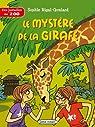 Des jumelles au zoo - Le mystère de la girafe par Rigal-Goulard