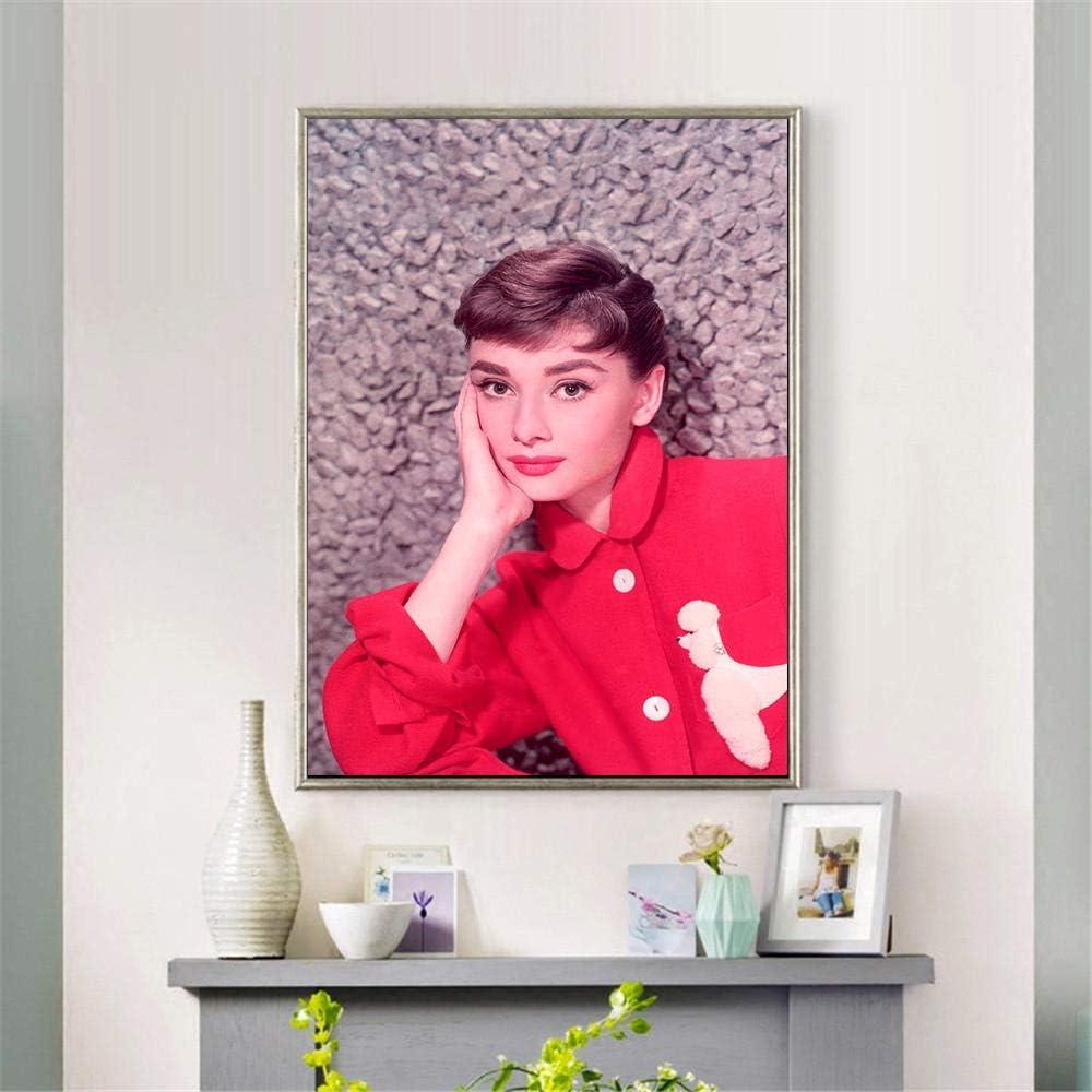 Cuadros de lienzo para dormitorio Carteles e impresiones y Mujeres Película Pintura Lienzo Arte Pintura al óleo Cuadro abstracto de pared para dormitorio Decoración del hogar-30x45__CM_Unframed_Gr