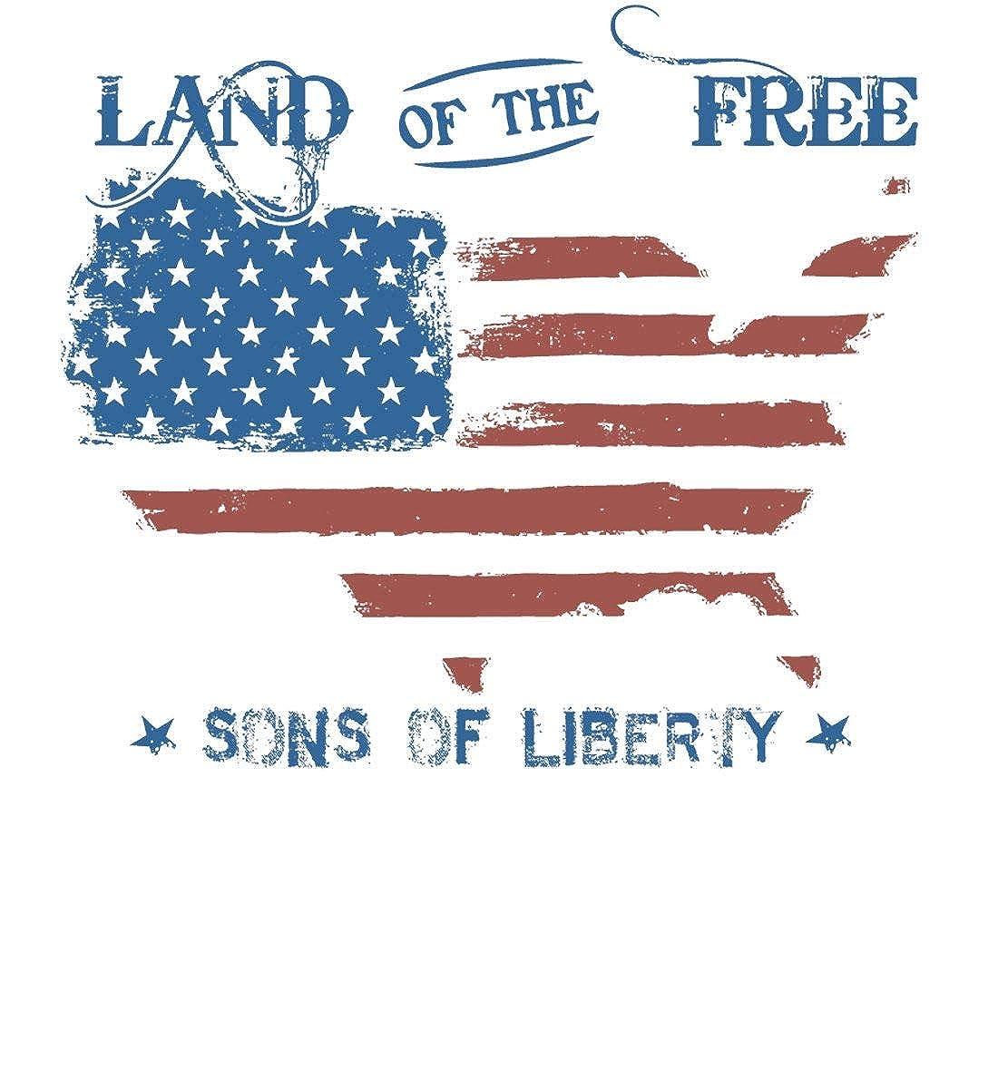 Sons Of Liberty Land of The Free Gildan T-Shirt