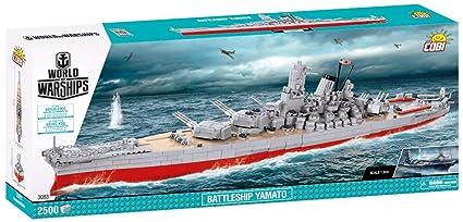 COBI World of Warships Battleship Yamato