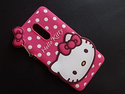 best sneakers 4e5c6 6caff Cute 3D hello kitty back cover Lenovo K4 Note Pink