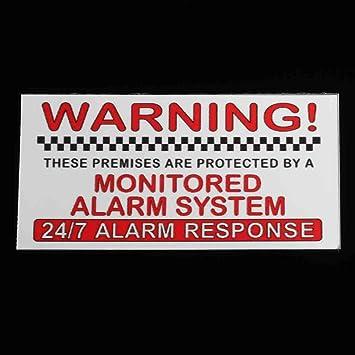 Desconocido 5 Unidades de Pegatinas de Advertencia de ...