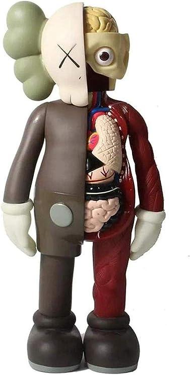 LWH-MOU KAWS Doll Anatomy Explosion Head 37CM Modelo Art Toys Acción Colección de muñecas Decoración Figura Colección Oficina Adorno Escultura B-B: Amazon.es: Hogar