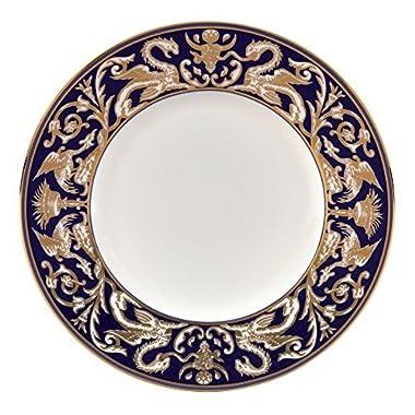 "Renaissance Gold Accent Salad Plate Scroll 9"""