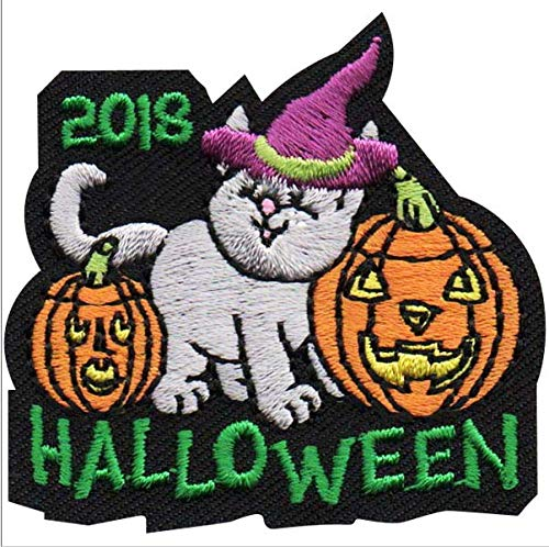 Cub Girl Boy HALLOWEEN Embroidered Iron-On Fun Patch