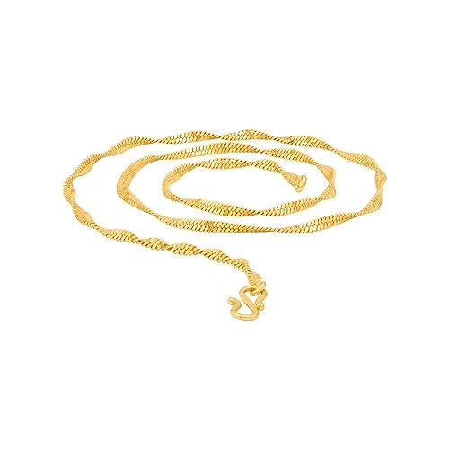 36bd5d7fcf055 Voylla Chain for Men (Golden)(8907617488141)  Amazon.in  Jewellery