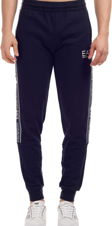 Emporio Armani EA7 3HPP61 - Pantalones de chándal de algodón, color azul marino