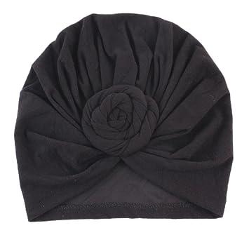 93f072644c8 Amazon.com  Voberry Kids Baby Bohemian Head Wrap Cap Cute Cotton ...