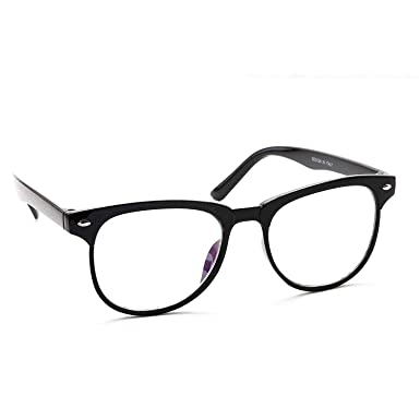 d0fe6cf29d Dervin Clear Lens Black Frame Spectacle Wayfarer Sunglasses for Men and  Women  Amazon.in  Clothing   Accessories