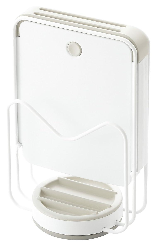 義務タッチニコチン鍋フタスタンド まな板スタンド コンパクトサイズ ガスレンジサイド用 18-8ステンレス製 日本製