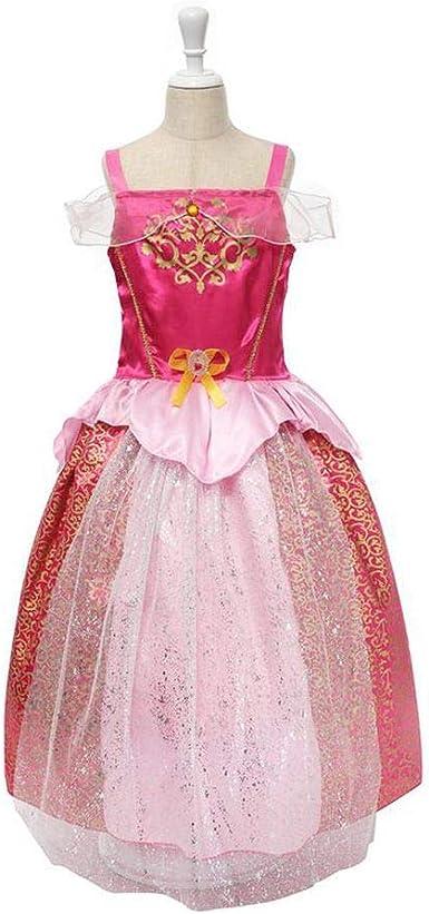 Alin-Style Girls Dress Vestido de niña Rapunzel para Disfraz ...