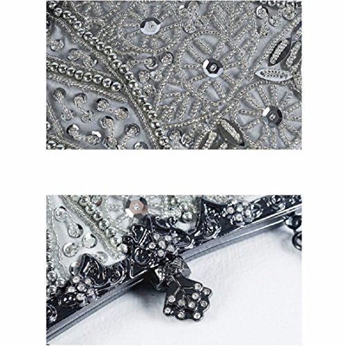 noche noche Violeta noche Color XJTNLB de perfecta noche bolso cheongsam bolsa de bolso vestido bolsa vieja de de vestido de la pareja Bolso novia Champagne bordado la 8OS8Xp