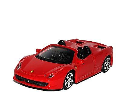 Amazon Com Bburago Ferrari 458 Italia Spider Cabrio Rot Ab 2009 1