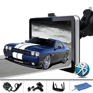 yqtec 7 pulgadas 8 GB GPS Coche Camión Camión de navegación GPS con mapas de UE Reino Unido y Full, Bluetooth, gratuito Actualizaciones de mapas: Amazon.es: ...