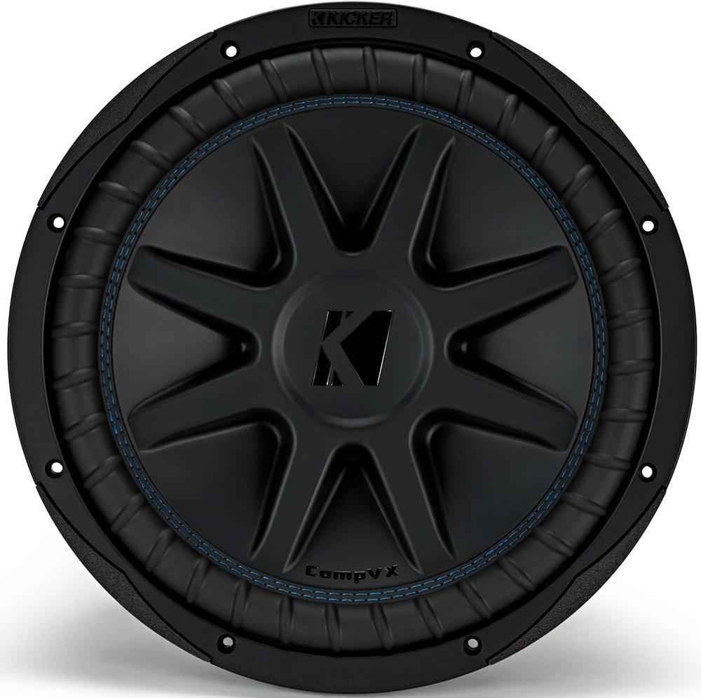 """Amazon.com: Kicker CVX124 COMPVX 12"""" Subwoofer Dual Voice Coil 4-Ohm 750W:  Cell Phones & Accessories"""