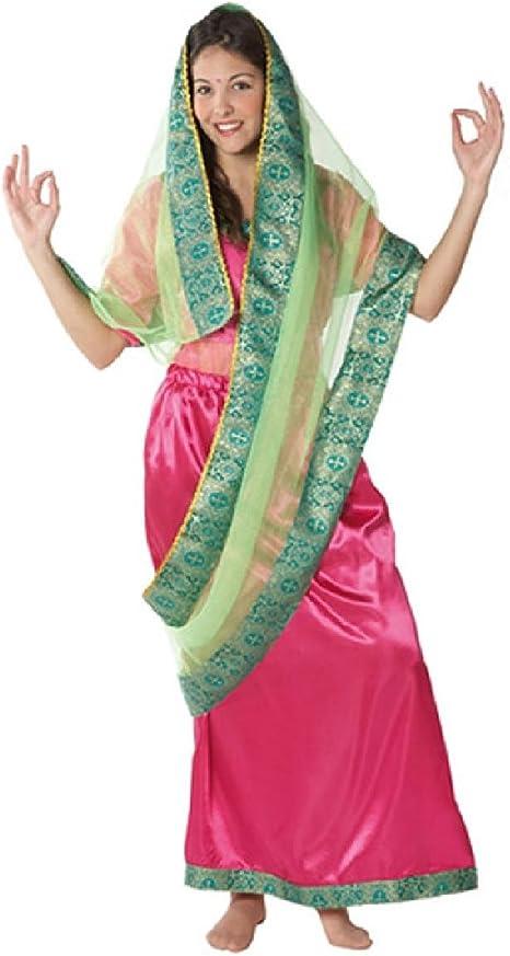 Disfraz hindú mujer. Talla 42/44.: Amazon.es: Juguetes y juegos