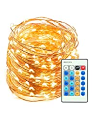 LED String Lights 66ft 200 LEDs TaoTronics Dimmable Festival ...