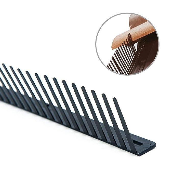 10 paquetes de rellenadores de aleros para tejas con peine antipájaros de 1 metro de largo, tachado, relleno para fascia: Amazon.es: Bricolaje y ...
