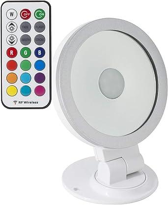 Foco Proyector LED Direccionable 360º RGB 10W Blanco RGB: Amazon ...