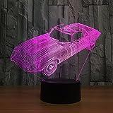 Night Lights for Kids Toy Car 3D Night Light Lamp
