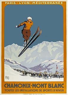 Vintage Urnasch Switzerland Ski Lift Winter Sports Tourism Poster Print A3//A4