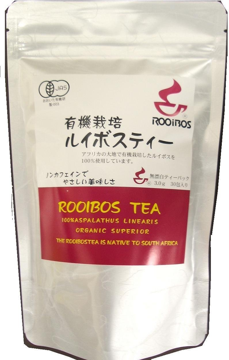 Organically grown Rooibos 3gx30 wrapped