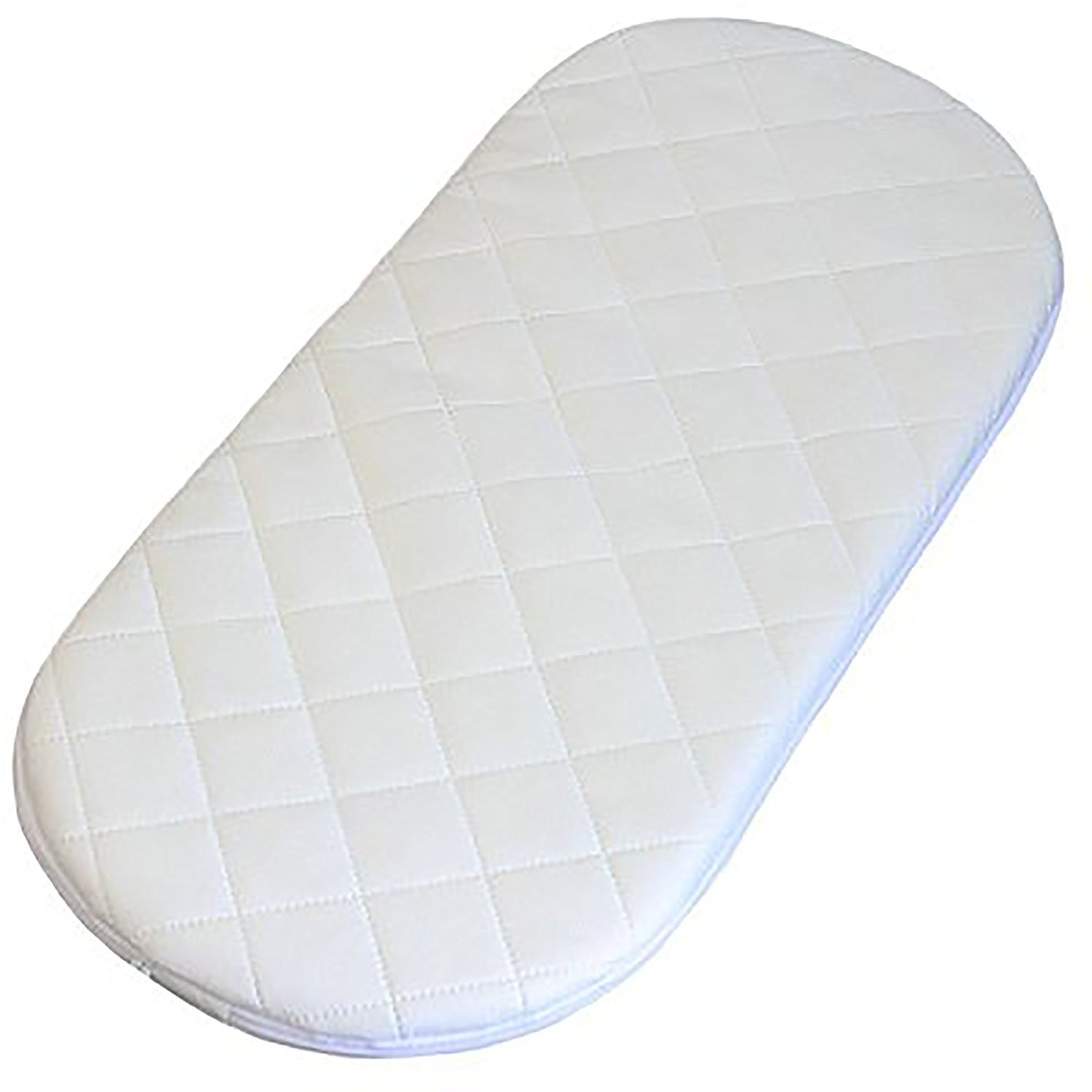 Replacement Safety Mattress with Quilted Cover to fit The Venicci Pram Carrycot Length 75cm, Width 33cm