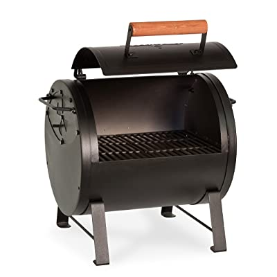 Char-Griller E22424 Table Top Charcoal Grill and Side Fire Box