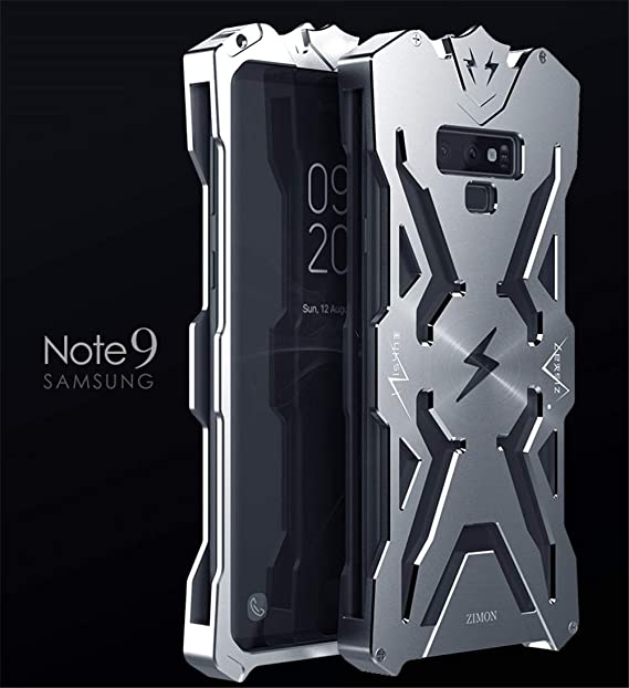 promo code 637ea f2f58 for Galaxy Note 9 Case,DAYJOY Cool Design Arm Shield Premium Aerospace  Aluminum Metal Shockproof Bumper Frame Cover Case for Samsung Galaxy Note  ...