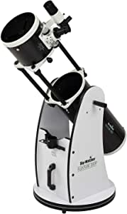Sky-Watcher Flextube 200 Dobsonian 8-inch Collapsible Large Aperture Telescope – Portable, Easy to Use, Perfect for Beginners