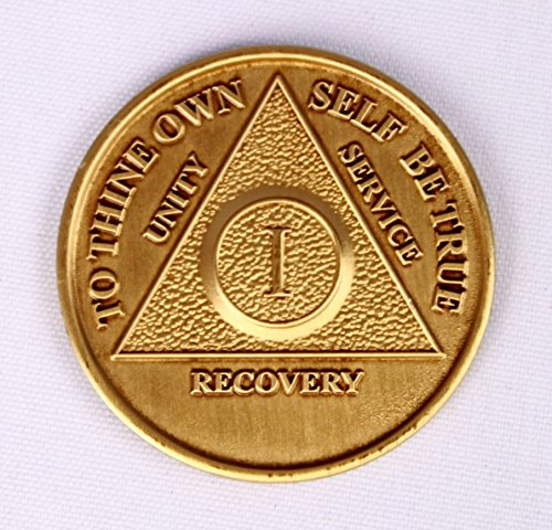 3 YEAR Bronze MEDT - AA Recovery Medallion / Coin - Anniversary or Birthday