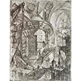 The high quality polyster Canvas of oil painting 'Round Tower, 1750 By Giovanni Battista Piranesi' ,size: 12x16 inch / 30x40 cm ,this Vivid Art Decorative Canvas Prints is fit for Game Room gallery art and Home decoration and Gifts