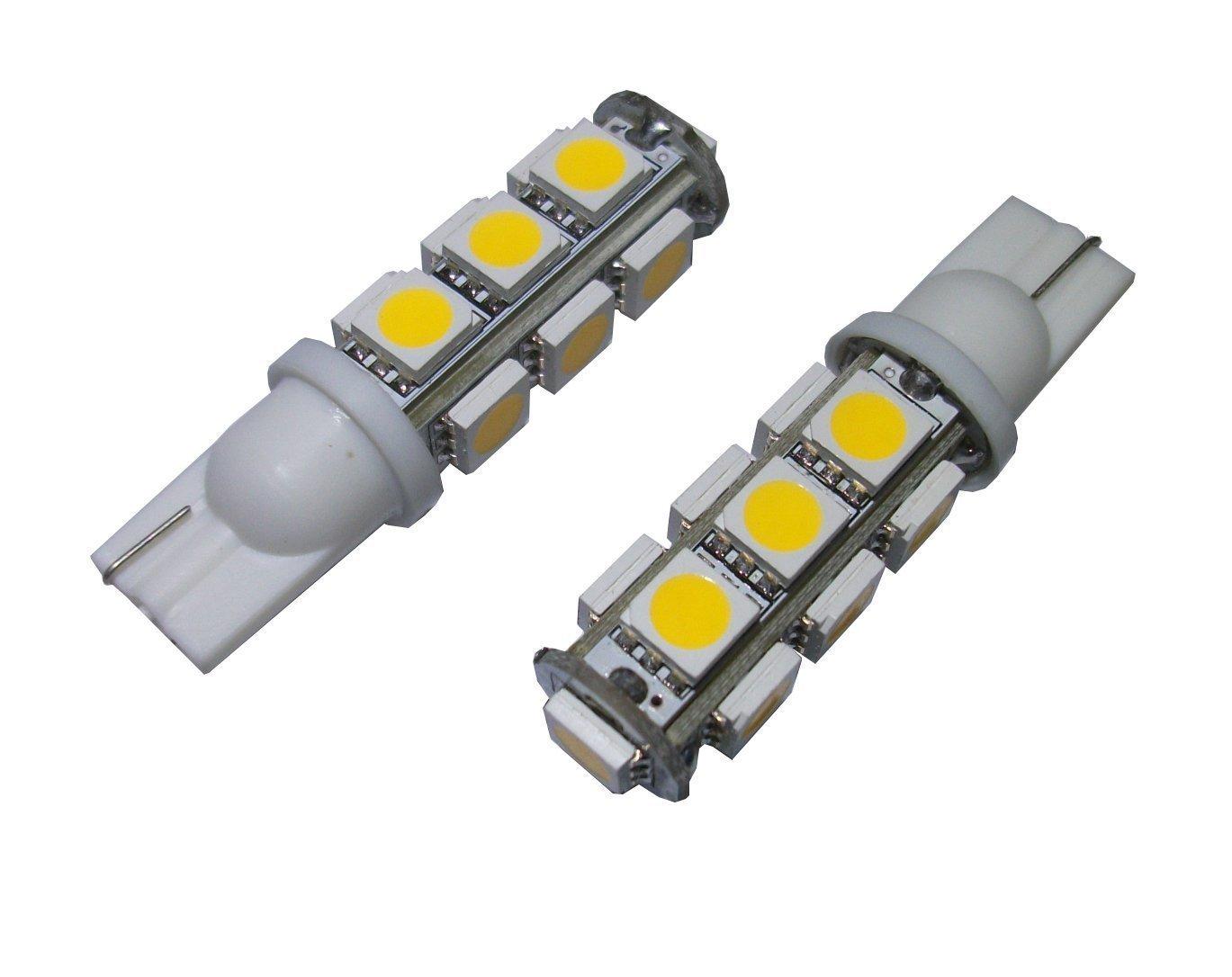 13-SMD Parking light,Side marker and Backup lights Turn signal light Corner light T10 921 194 13-5050 SMD Wedge LED Bulb lamp Super Bright Warm White DC 12V,Wedge LED Bulb For Tail lights