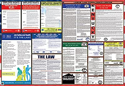 Kentucky / Federal Combination Labor Law Posters NEW!