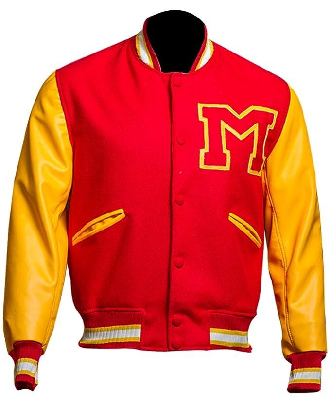 Amazon.com: trendzinn MJ Thriller Michael Jackson rojo M ...