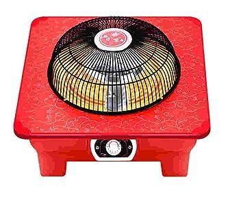 FTYUC Calefactor, Calefactor, Calefactor eléctrico. Hogar Solar pequeño. Ahorro de energía. Estufa de brasero. Tostador.: Amazon.es: Hogar