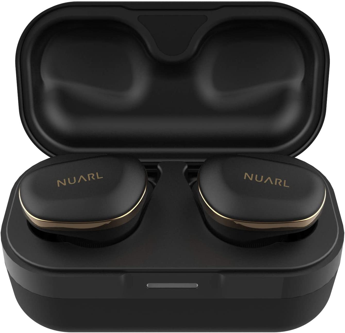 NUARL N6 Pro TWS True Wireless Stereo Earphones Earbuds Bluetooth5 11hr Playback aptX with HDSS IPX4 N6PRO-MB MATT Black
