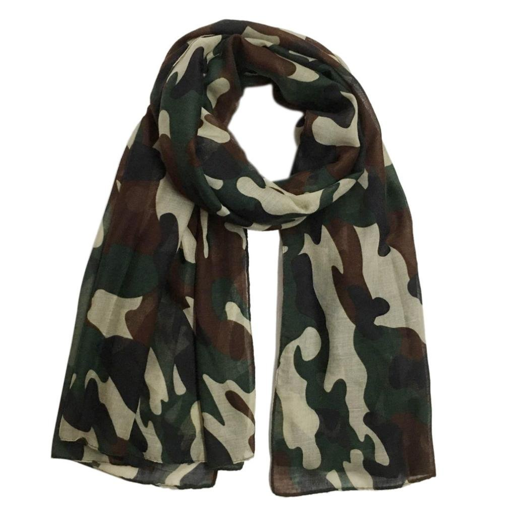 Women Scarf Winter Shawl Fashion Camouflage Scarf Soft Wrap Stole Pashmina Scarves