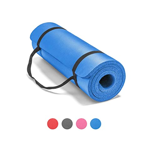 Amazon.com: LOKATSE HOME All Purpose Thick Yoga Mat with ...