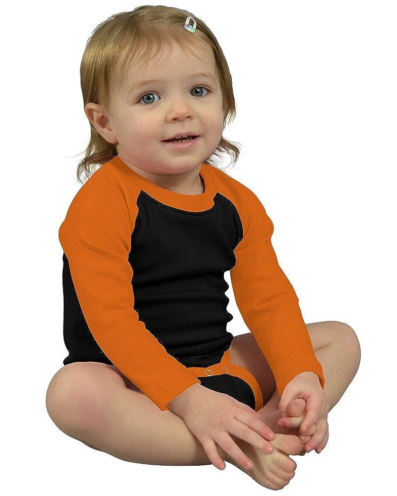 Monag Long Sleeve Raglan Bodysuit 100230-$P