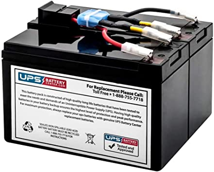 APC Smart-UPS 750VA 120V SUA750 Compatible Replacement Battery Pack by UPSBatteryCenter